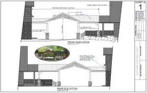 Sample plans for breezeway addition