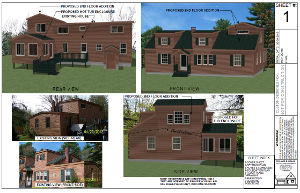 Sample plans for a home addition