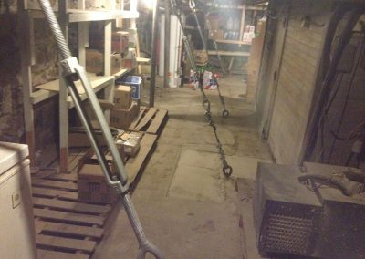 Leaning Building Repair