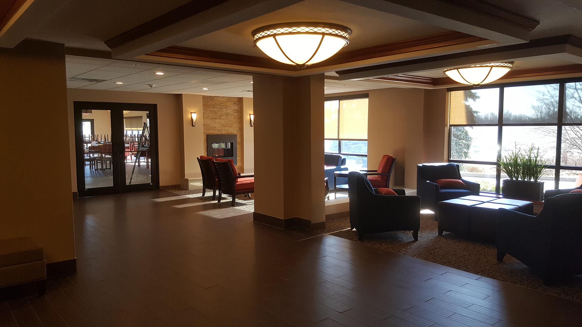 Lobby, view 3, Comfort Inn