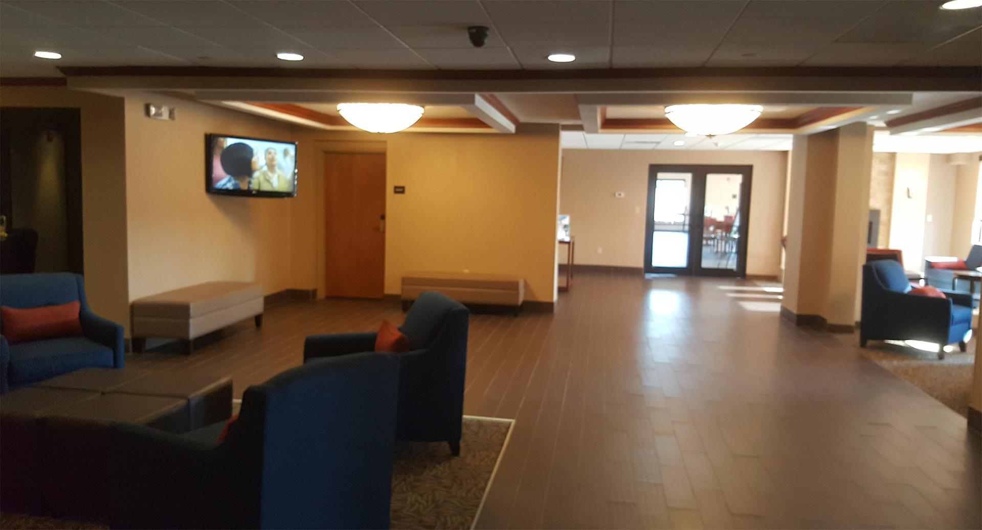 Lobby, Comfort Inn