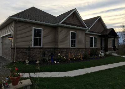 New Custom 3 Bedroom Ranch Home with Septic Design