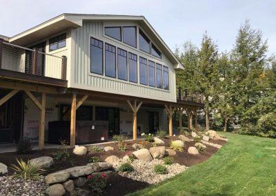 Custom Adirondack Style Home Design with Septic Design