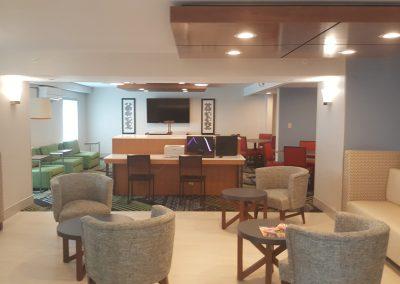 Holiday Inn Express Interior Renovation