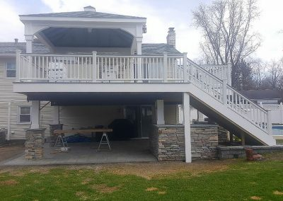 Deck Design & Second Story Addition