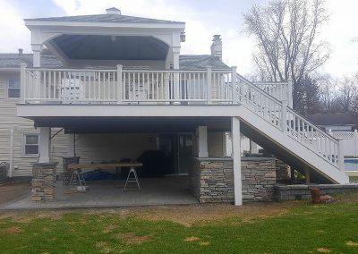 Deck Design & Second Story Addition